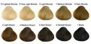 قیمت جدید رنگ مو آلبورا بلوند روشن