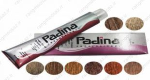 سفارش رنگ مو پادینا